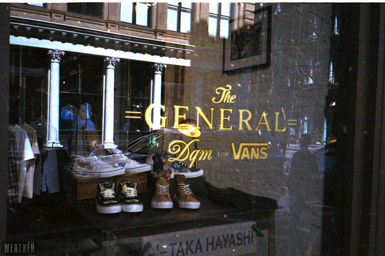 The VANS // DQM General Store.