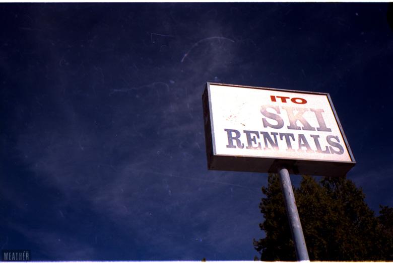 Ito Ski Rentals. Arrowbear, CA.